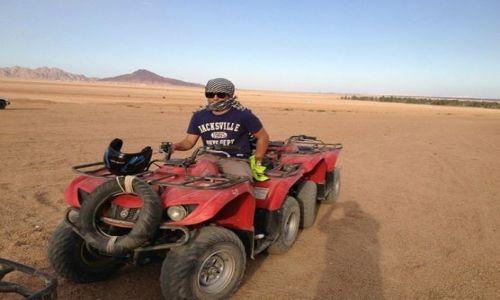 Zdjecie EGIPT / janub sina / sharm el sheikh / Quadem przez pustynie