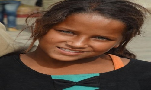 Zdjecie EGIPT / Kair / Kair / Dziewczyna