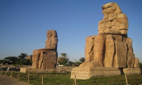 Zdjecie EGIPT / Luksor / Luksor / Ponadczasowi