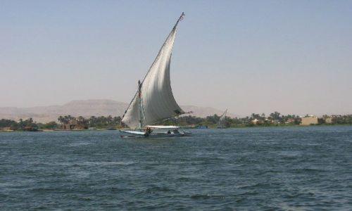 Zdjecie EGIPT / brak / Nil w okolicy Luksoru / Rejs Nilem
