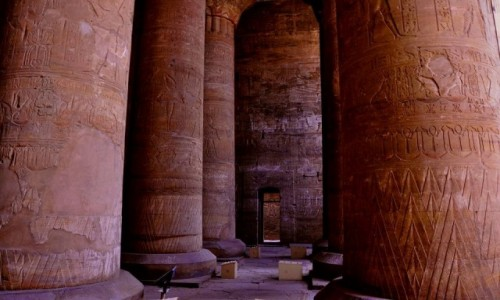 Zdjecie EGIPT / Edfu city / Temple of Edfu / Temple of Edfu