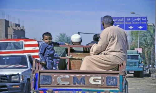 Zdjecie EGIPT / Dolina nilu / Aswan / Transport na pace