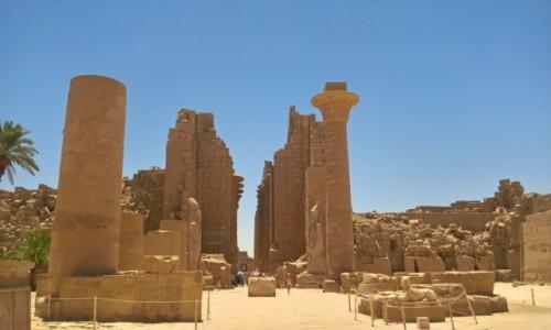 Zdjęcie EGIPT / Luxor / Luxor / Karnak