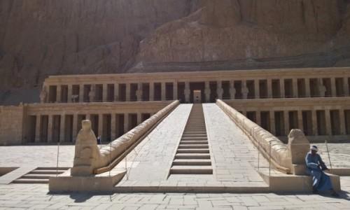 Zdjęcie EGIPT / Luxor / Luxor / Świątynia Hatszepsut