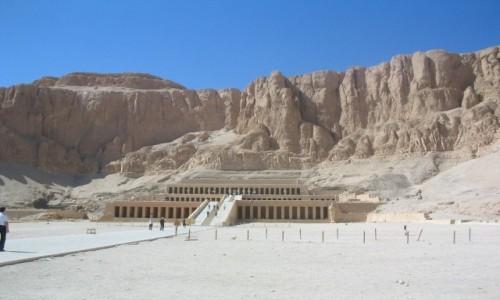 Zdjecie EGIPT / - / Świątynia Hatszepsut / Świątynia Hatszepsut