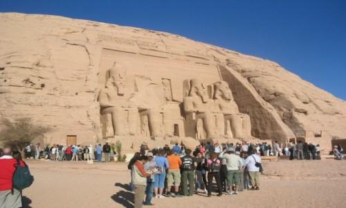 Zdjecie EGIPT / - / Abu Simbel / Abu Simbel