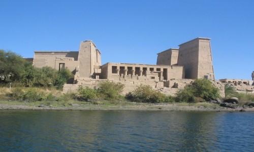 Zdjecie EGIPT / - / Wyspa File /  Świątynia Izydy na File