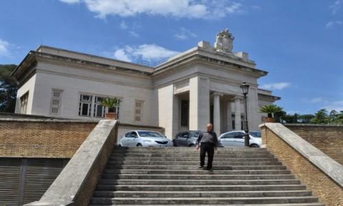 Zdjecie WATYKAN / Lazio / Rzym / Watykan, papieska stacja kolejowa