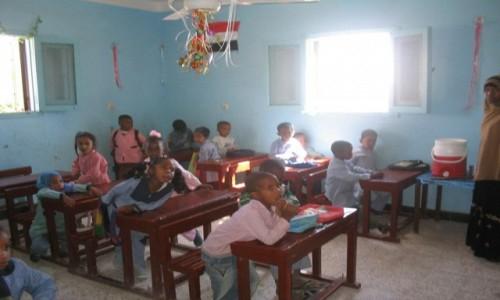 Zdjecie EGIPT / - / Egipt / Szkoła  w  wiosce nubijskiej