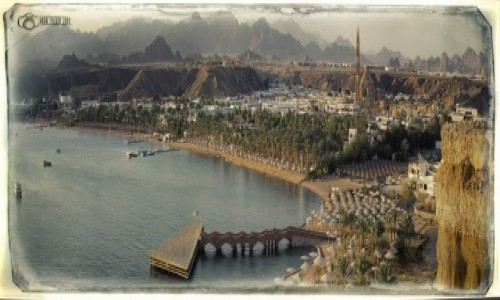 Zdjecie EGIPT / Pd Synaj / Clif widokowy / Sharm el Sheikh