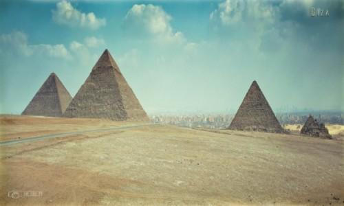 EGIPT / Kair / Giza / Piramidy