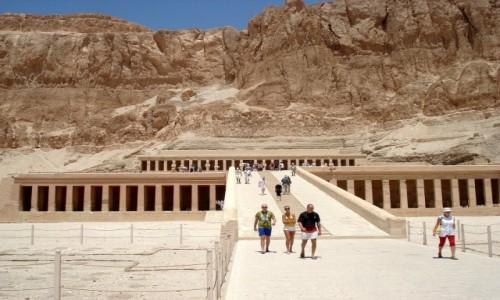 Zdjęcie EGIPT / Luksor / dolina Deir el- Bahari / Egipskie wspomnienia