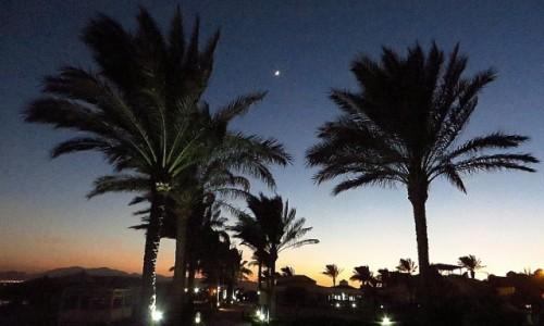 Zdjęcie EGIPT / Pustynia Arabska / Safaga / zachód Słońca