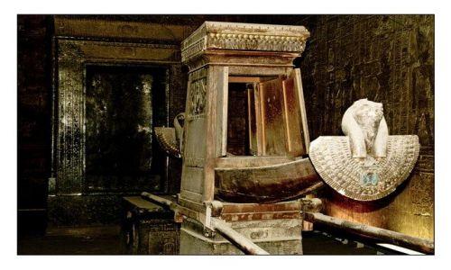 Zdjecie EGIPT / brak / Thebes / God's Barge