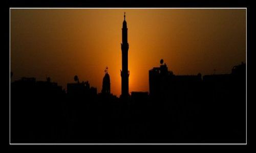 Zdjecie EGIPT / brak / Nile / Sunset