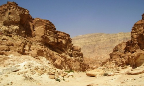 Zdjecie EGIPT / Synaj / . / Kolorowy Kanion 21