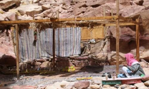 Zdjęcie EGIPT / Synaj / Kolorowy Kanion / stragan