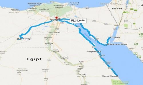 EGIPT / - / Kair / 3500 km po Egipcie