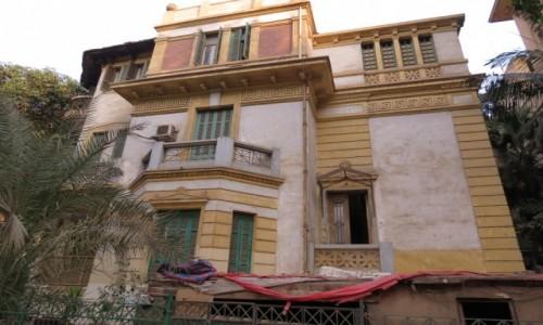 EGIPT / Kair / Zamalek / Secesyjna willa