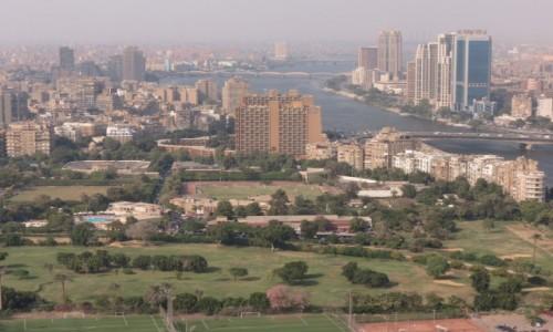 EGIPT / Kair / Zamalek / Kair panorama