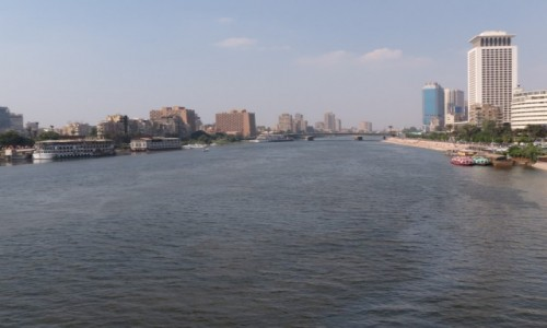 Zdjęcie EGIPT / Kair / Zamalek / Kair panorama Nil