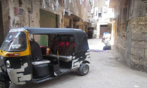 EGIPT / Kair / Stare  Miasto / Ulica Starego Kairu