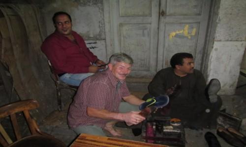Zdjęcie EGIPT / Kair / Kair / Pucybut i jego uczeń