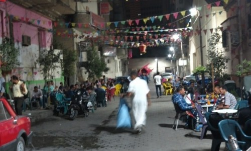Zdjecie EGIPT / Kair / Kair / Typowa kairska ulica