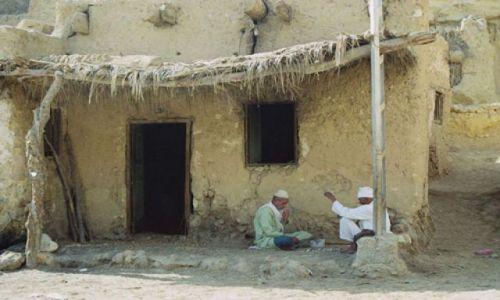 Zdjecie EGIPT / Gdzie� w drodze / wioska / Spokojny dzie�