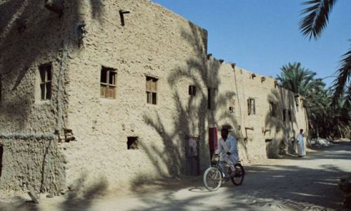 Zdjecie EGIPT / Gdzieś w drodze / spokojna wioska na trasie / Wioska
