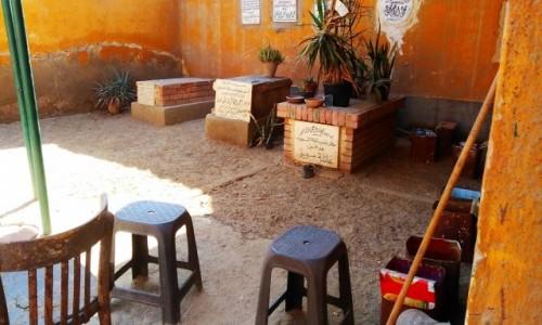 EGIPT / Kair / Kair / miasto umarłych dom