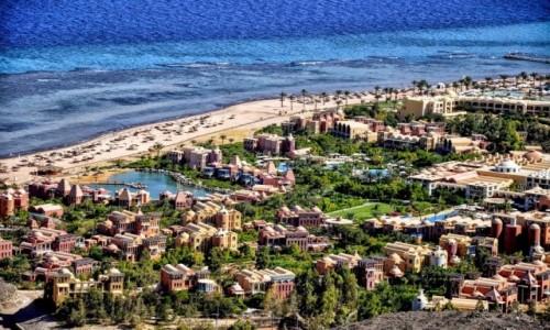 Zdjęcie EGIPT / Synai / Taba / panorama