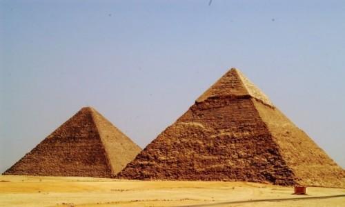 Zdjecie EGIPT / Giza / Kair / Piramidy