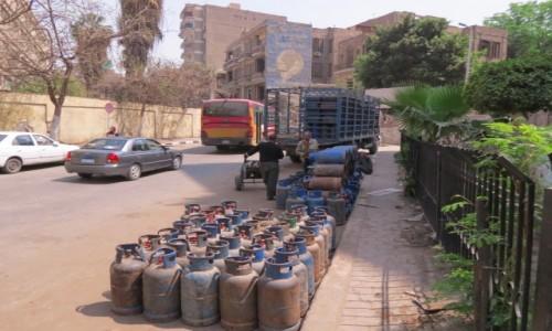 Zdjęcie EGIPT / Egipt / Kair / bezpieczny gazz
