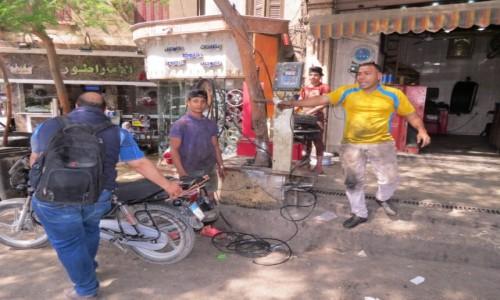 Zdjęcie EGIPT / Egipt / Kair / wulkanizacja