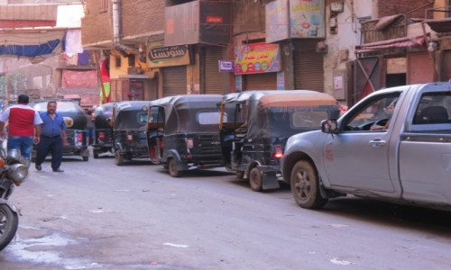 EGIPT / Afryka / Kair / tuk tuk