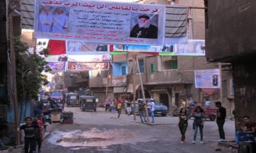 EGIPT / Afryka / Kair / miasto śmieci 1