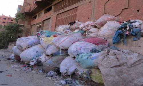 Zdjecie EGIPT / Afryka / Kair / miasto śmieci 2