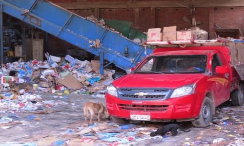 Zdjecie EGIPT / Afryka / Kair / miasto śmieci 4