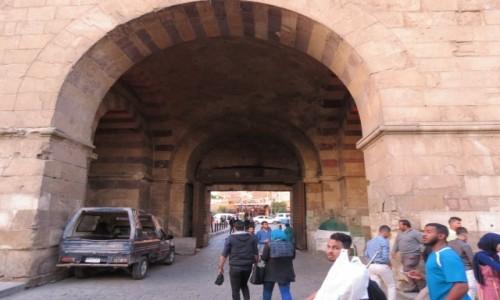 EGIPT / Afryka / Kair / brama 1