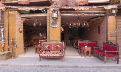 Zdjęcie EGIPT / Afryka / Kair / cafe lord 1