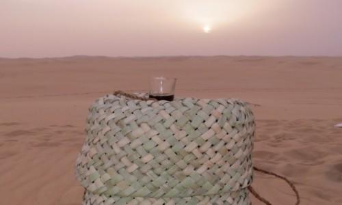 Zdjecie EGIPT / Afryka / Kair / siwa herbata na pustyni1