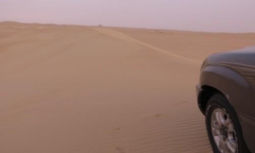 Zdjecie EGIPT / Afryka / Siwa / pustynia jeep