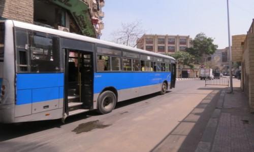 Zdjecie EGIPT / Egipt / Kair / autobus miejski