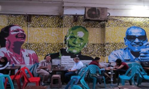EGIPT /  Afryka / Kair / kair coffeshop