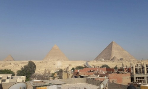 EGIPT /  Afryka / Kair / piramidy 2