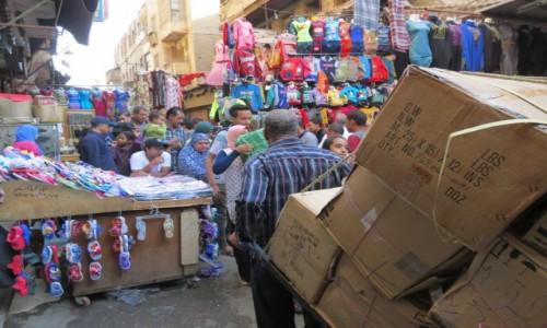 Zdjecie EGIPT / Afryka / Kair / logistyka na Chan Al Chalili