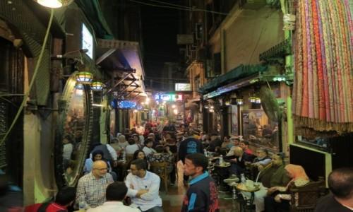 Zdjecie EGIPT / Afryka / Kair / Mahfuz cafe