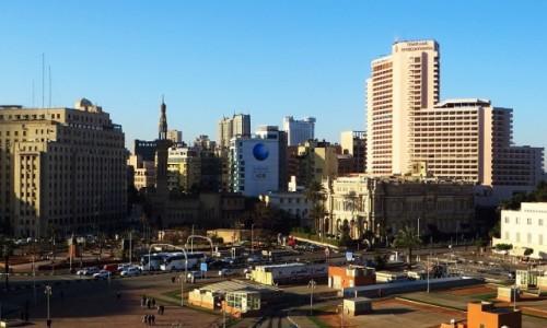 Zdjecie EGIPT / Kair / Kair / widok na Midan al-Tahrir