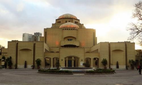 Zdjęcie EGIPT / Kair / Kair - wyspa Gezira / budynek opery